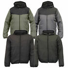 mens jacket Brave Soul coat padded bomber hooded casual fashion lined winter