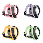 Gooby Active X Dog Harness - S M L Small Breed Choke Free Soft Mesh Micro Suede