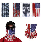 1x Universal Motorcycle Face Mask American Flag Outdoor Hiking Cycling Snowboard