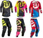 NEW 2018 FLY KINETIC OUTLAW MOTOCROSS DIRTBIKE GEAR COMBO ALL COLORS ALL SIZES