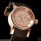 Invicta Men S1 Yakuza Dragon NH35A Automatic 18K Rose Gold IP Stainless St Watch