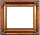 "6"" WIDE LARGE Ornate Gold Picture Frame 689G"