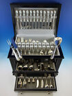 Torchon by Buccellati Sterling Silver Flatware Set for 12 Service 132 pcs Dinner
