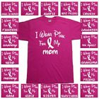 Breast Cancer Awareness Pink Ribbon Survivor Walk Support Tee T Shirt Shirts Top