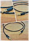3.5mm stereo male aux cable japan made copper wire Gold Plug ITEM.027