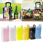 Mini Travel Suitcase Box Wedding Favors Party Reception Candy Sweets Storage Toy