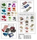 100% Cotton Woven Sofa Bed Throw, Blanket, Bedspread & Settee Cover in 6 Sizes