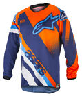 2018 Alpinestars Racer Supermatic Jersey Orange Flo/Blue