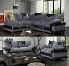 Dino Sofa Fabric Different Styles & Various Of Colours Black Grey Brown Coffee