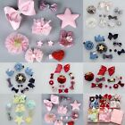 10pcs Baby Kids Girls Flowers Bow Hair Pins Clips Hair Accessory Jewelry Gift