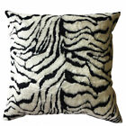 Soft & Fluffy Faux White Tiger Fur Cushion Cover with Inner 60 x 60cm Home Décor