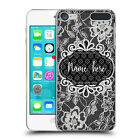 CUSTOM CUSTOMISED PERSONALISED BLACK LACES BACK CASE FOR APPLE iPOD TOUCH MP3