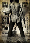 3.10 TO YUMA 02 (RUSSELL CROWE AND CHRISTIAN BALE) GLOSSY FILM POSTER PRINTS