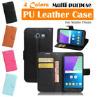 Samsung Galaxy J3 Prime / Amp Prime 2 Leather Case PSC Cover Skin Wallet Stand