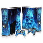 For Xbo X360 Console Film Protect Cover Stickers Skins Battle Slim Vinyl Sticker