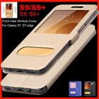 Samsung Galaxy Note 8, S8/S8+ S7 Flip Leather Wallet View Window Skin Case Cover