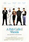 A FISH CALLED WANDA (JOHN CLEESE AND JAMIE L) 01 GLOSSY FILM POSTER PHOTO PRINTS