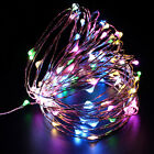 10m 100led Indoor Colorful String Lamp Fairy Light Xmas Wedding Outdoor Decor