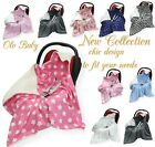 NEW+COTTON+%26+MINKY+PLUSH+CAR+SEAT+BABY+BLANKET+-+COSYTOES+To+Fit+Maxi+Cosi+Brand
