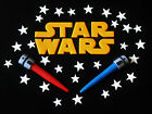 STAR WARS EDIBLE CAKE DECORATIONS X 1 PACK - PICK YOUR SIZE LOGO... AWESOME!! $25.0 AUD