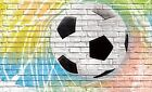 Photo Wallpaper FOOTBALL BOYS KIDS ROOM SPORT DECORATIVE Wall Mural (2021VE)