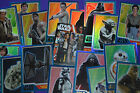Topps 2015 Journey to STAR WARS The Force Awakens Trading Cards - Rainbow Foil