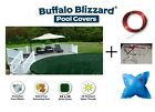 Buffalo Blizzard® Supreme Above Ground Winter Pool Cover -Huge SALE - All Sizes