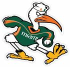 Hurricanes University Of Miami Vinyl Sticker Decal *sizes* Cornholetruck Wall