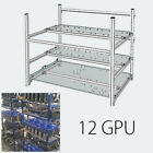 6GPU-19 GPU,Open Air Frame Mining Miner Rig Case For Crypto Coin Zcash (ZEC) ETH
