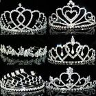 SALE Prom Bridesmaids made with Swarovski Crystal Silver Plated Tiara T038