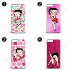Betty Boop Pink Heart Cartoon Hard Phone Case Cover For All iPhone £6.26 GBP on eBay