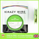 0.07mm (41 AWG) - Comp SS316L (Marine Grade Stainless Steel) Wire -194.88 ohms/m