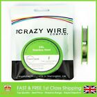 0.1mm (38 AWG) - Comp SS316L (Marine Grade Stainless Steel) Wire -95.49 ohms/m
