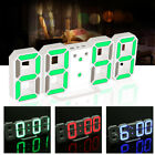 Digital LED Night Wall Desk Table Clock 24 12-Hour 8888 Display Alarm Snooze Set