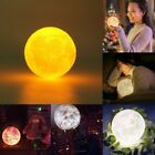3D Nachtlicht LED Mondlampe Night Light Moon Lamp Desk Lamp 8/10/13/15/18/20 cJH