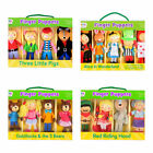 Fiesta crafts boxed Finger Puppets set different types