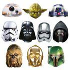Star Wars Maskarade Party Mask Darth Vader Yoda Stormtrooper £6.99 GBP