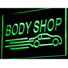 i821-g Body Shop Auto Car Display NEW Neon Light Sign