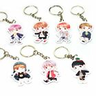 Entertainment Memorabilia - KPOP BTS Bangtan Boys Keychain Key Ring Bag Clip