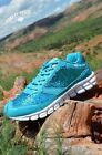 Crazy Train Teal I Sweat Glitter Shoes Size 9, 10, 11, 12 Runs One Size Small