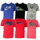 Nike Herren Jungen T-shirts Tee Fitness Sport Freizeit Just Do It Swoosh S M L