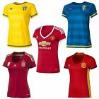 adidas WOMEN'S FOOTBALL JERSEY SPAIN SWEDEN MANCHESTER UNITED MAN UTD 0-22