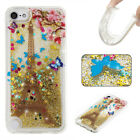 Cute Glitter Star Floating Sparkle For Apple iPod 5/Touch 6 Transparent Cover US