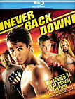 Never Back Down (Blu-ray Disc, 2008) Brand New