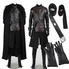 Popular Exclusive Game of Thrones Jon Snow Cosplay Costume Full Suit Customize