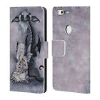 OFFICIAL AMY BROWN FOLKLORE LEATHER BOOK WALLET CASE COVER FOR GOOGLE PHONES