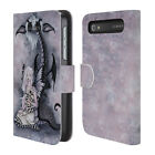 OFFICIAL AMY BROWN FOLKLORE LEATHER BOOK WALLET CASE FOR BLACKBERRY ONEPLUS