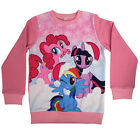 My Little Pony Pink Girls Unicorn Christmas Xmas Jumper Childrens Kids Age Sizes