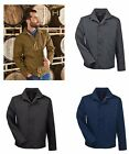 Harriton Men's Auxiliary Water Resistant Canvas Work Jacket XS-6XL