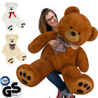 Deuba Large Teddy Bear Giant Huge Big Soft Plush Kids Girlfirend Valentines Toy